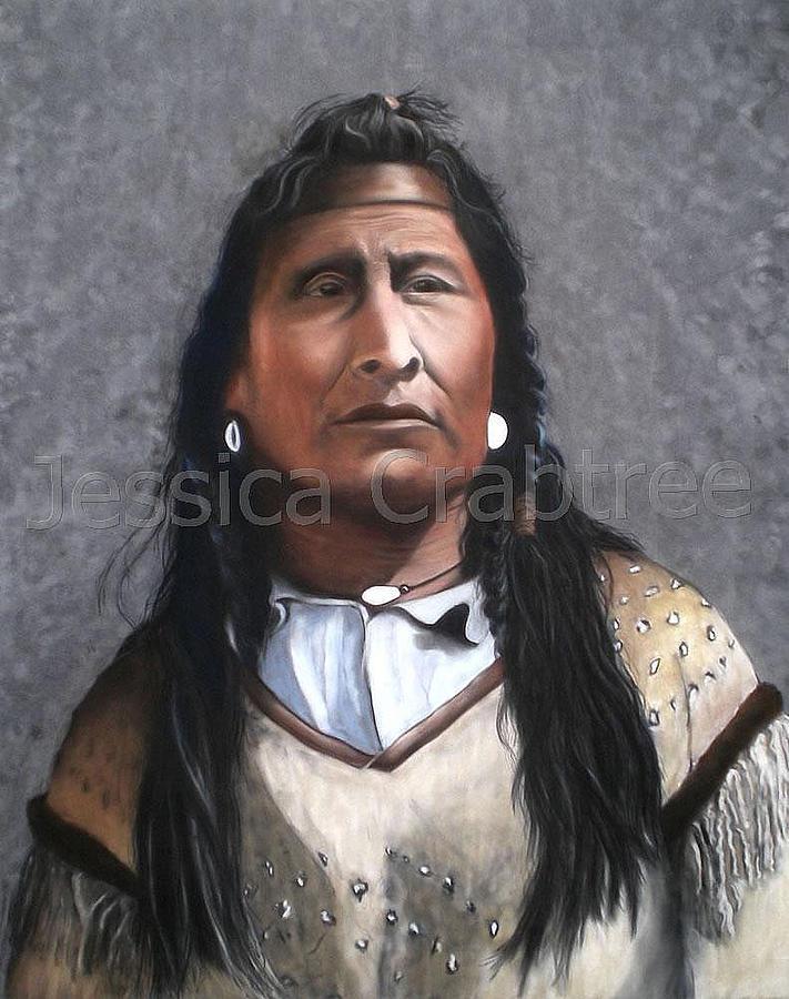 Pastel Pastel - Blackfoot by Jessica  Crabtree