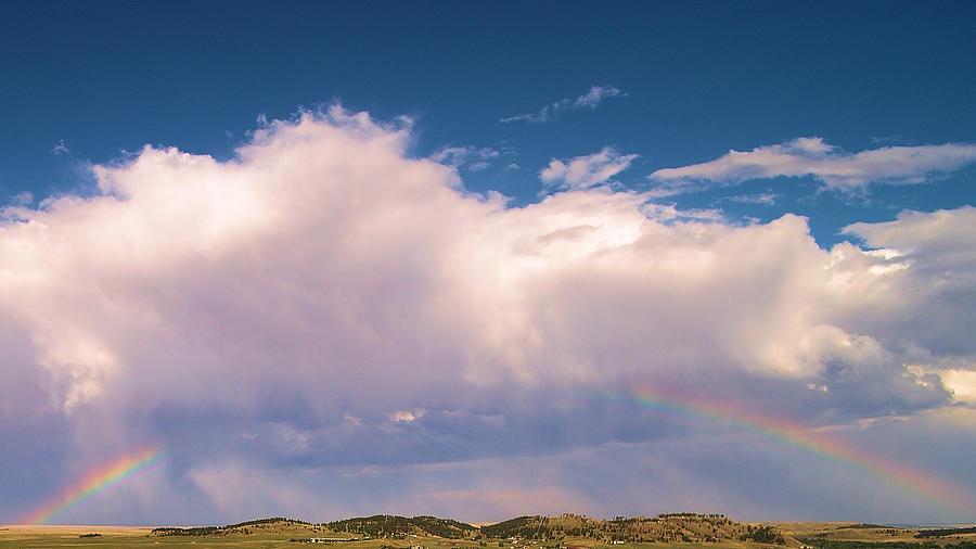 Rainbow Photograph - Blackhawk SD Rainbow by Michael Daniels