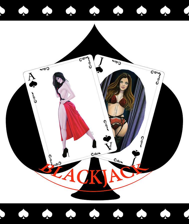 Black Jack Spades by Joseph Ogle
