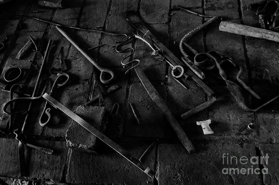 Blacksmith's Tools by Scott Parker