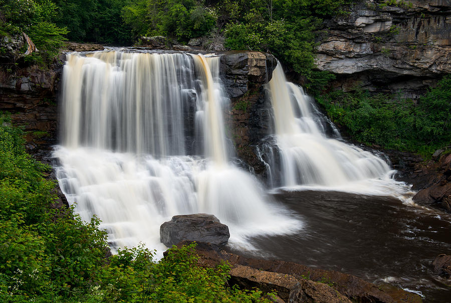 Blackwater Falls State Park West Virginia by Rick Dunnuck