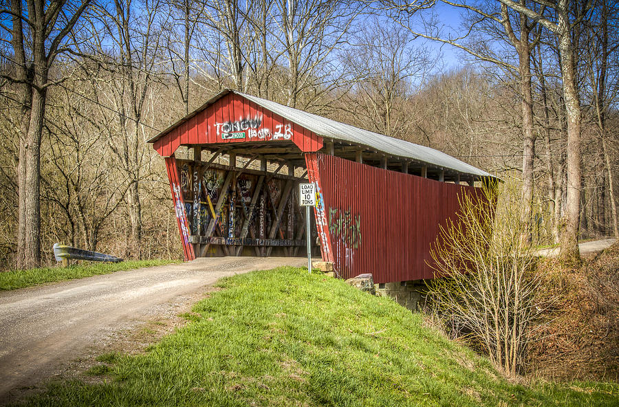 Blackwood Covered Bridge Photograph