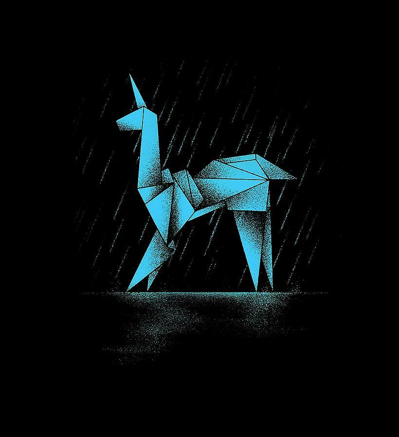 Blade Runner Origami Digital Art By Vindy Arlita