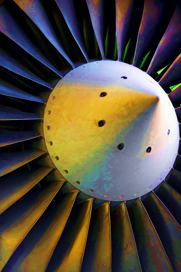 Airplane Photograph - Blades Of Fury by Ricky Barnard