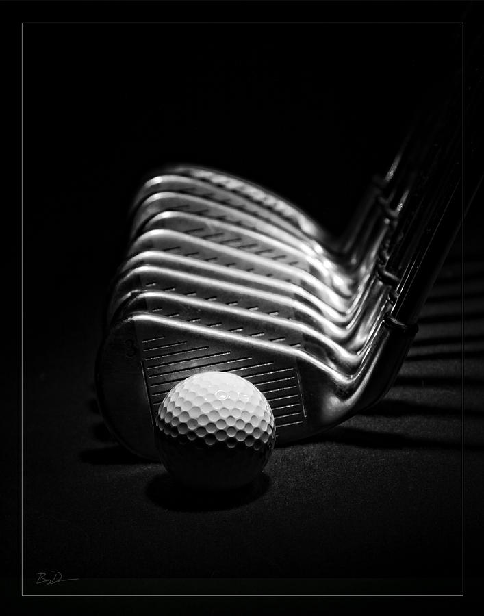 Golf Photograph - Blades Of Glory by Barry C Donovan
