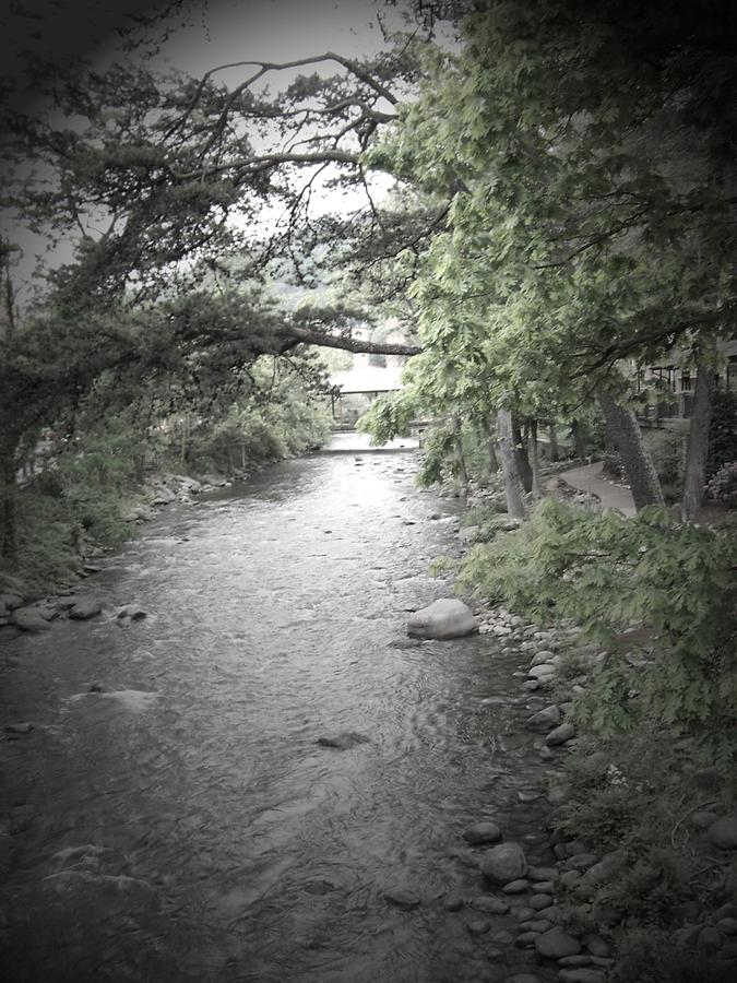 Creek Photograph - Blaim It On The Rain by Jessica Burgett