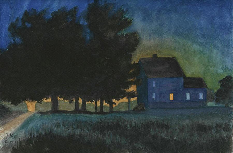 Blair Road 2003 Painting