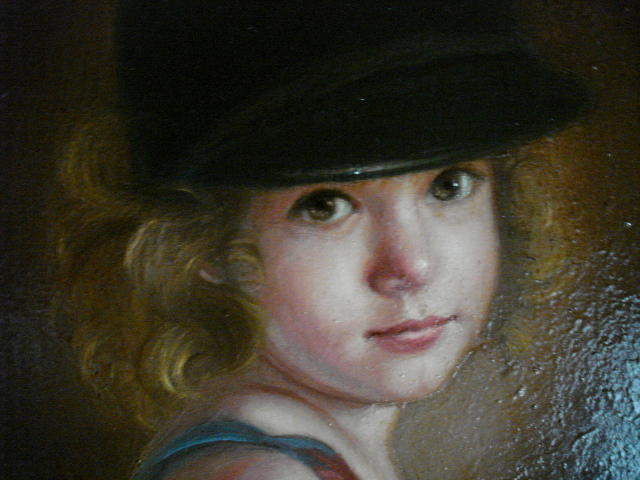 Portrait Painting - Blake At 4  by Catherine Amendola