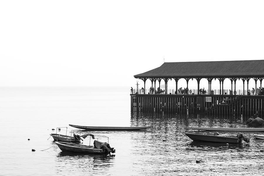 Hong Kong Photograph - Blake Pier In Stanley, Hong Kong by Luke Finch