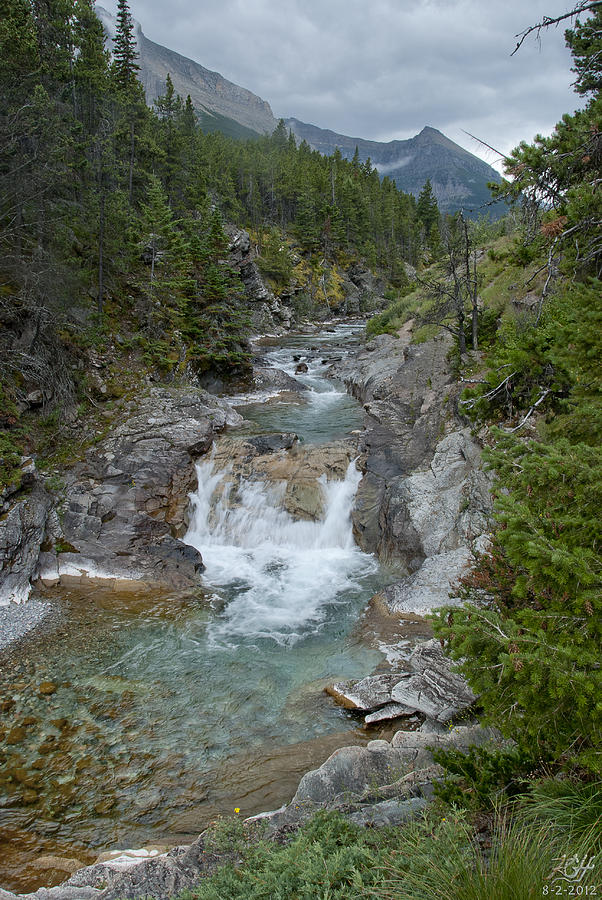 Waterton Lakes Photograph - Blakiston Creek by Kenneth Hadlock