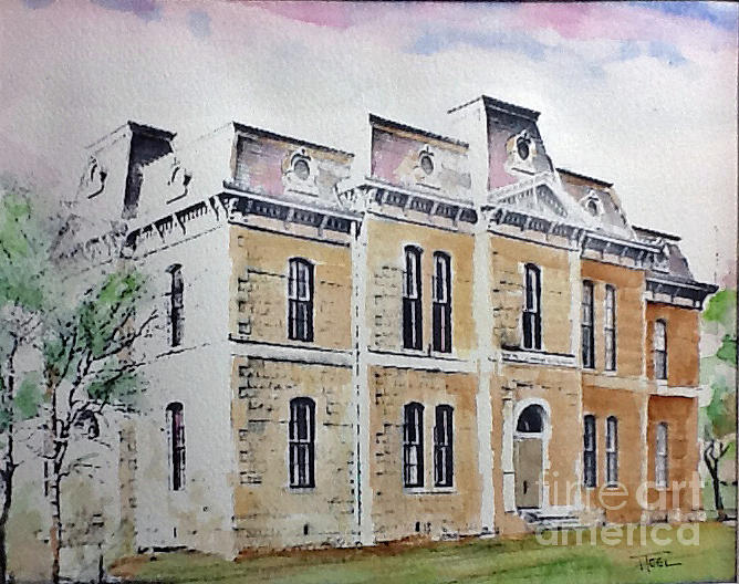 Blanco County Courthouse by Harold Teel