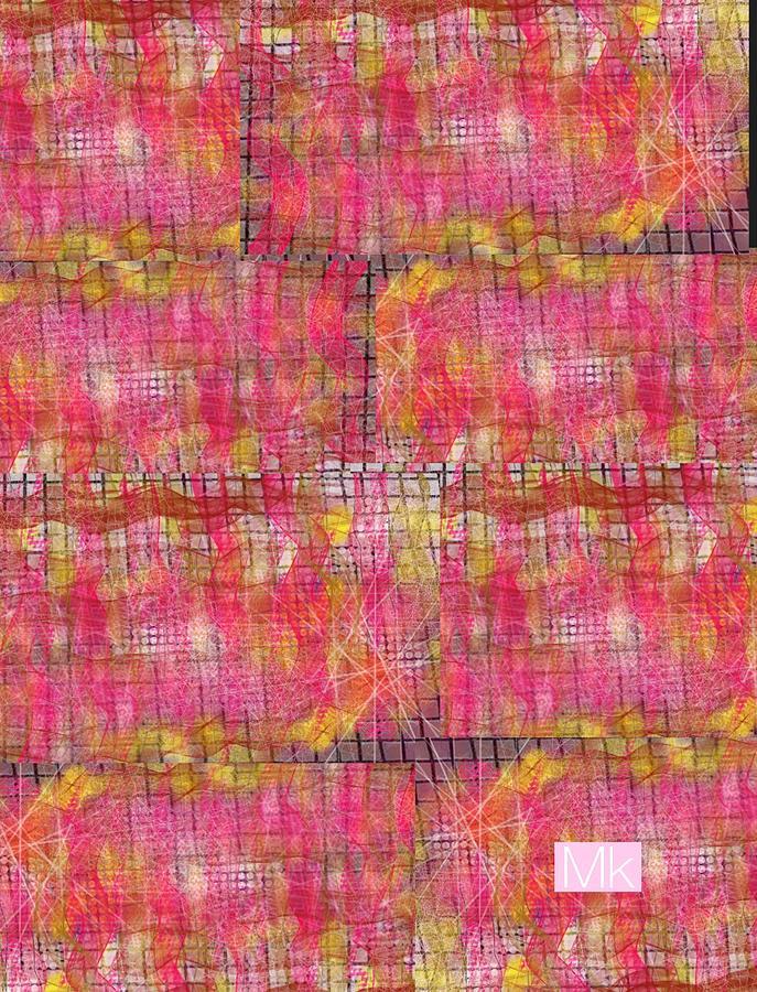 Textile Digital Art - Blanket by Mary Jo Hopton