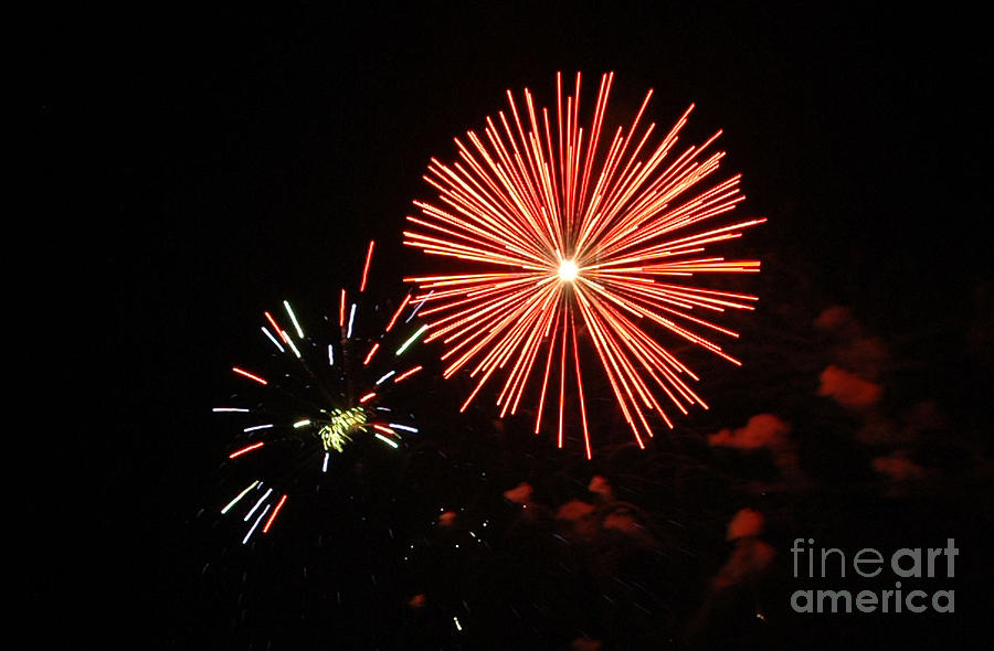 4th Of July Photograph - Blast And A Half by Norman Andrus