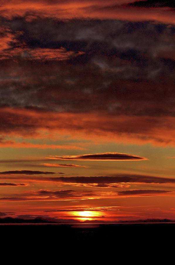 Blazing Sunset by Bryan Carter