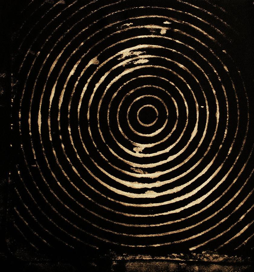 Bleaching Photograph - Bleached Circles by Cynthia Powell