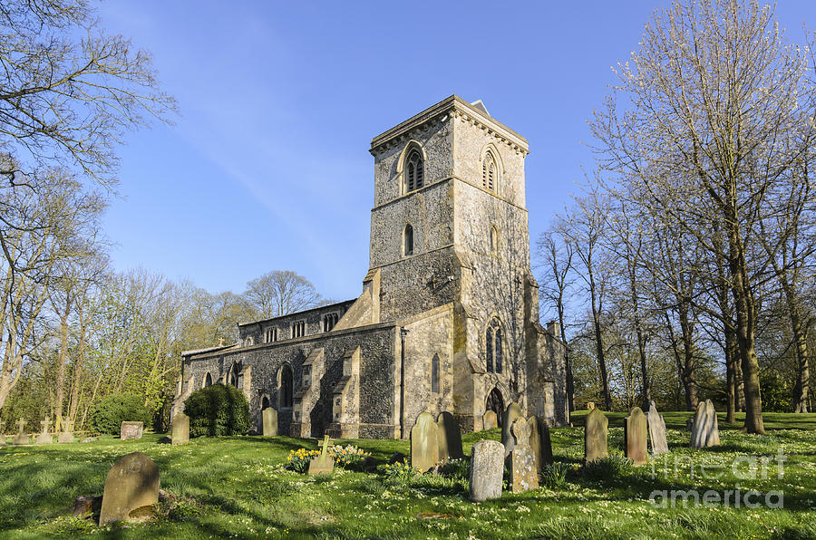 The Chilterns Photograph - Bledlow Church by Michael  Winters