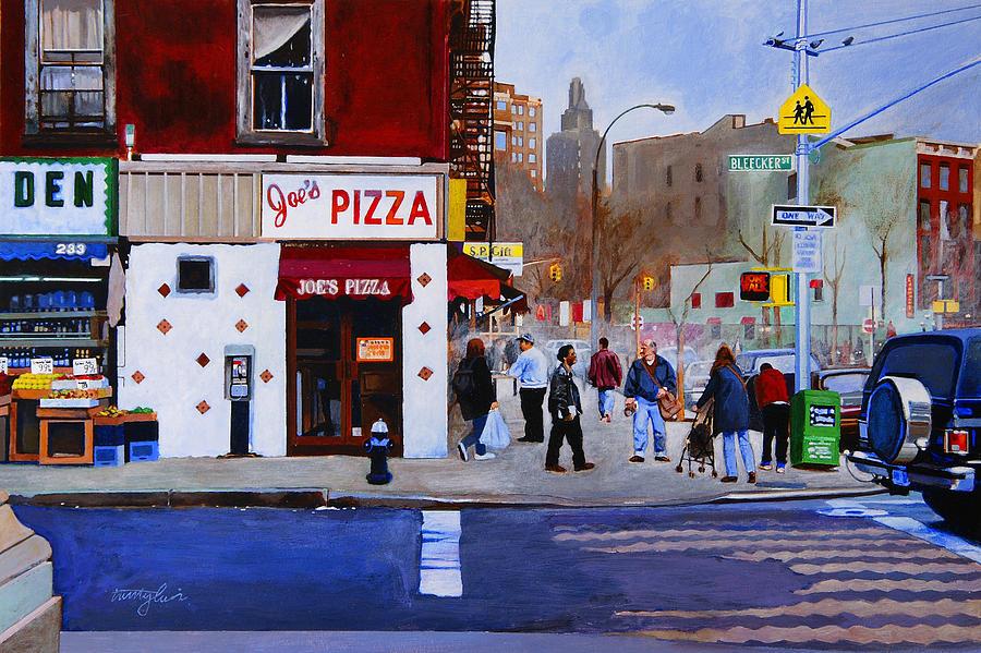Bleecker Street Painting - Bleecker Street by John Tartaglione