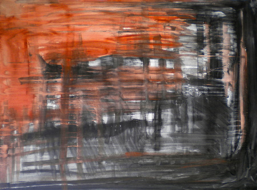 Bleeding Painting - Bleeding Through by Dylan Chambers