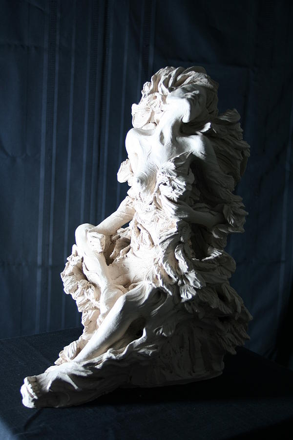 Sculpture Mixed Media - Bleeding Wings 5 by Kathy Ostman-Magnusen