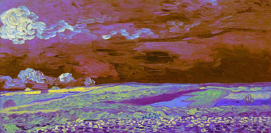 Vincent Van Gogh Digital Art - Blend 18 Van Gogh by David Bridburg