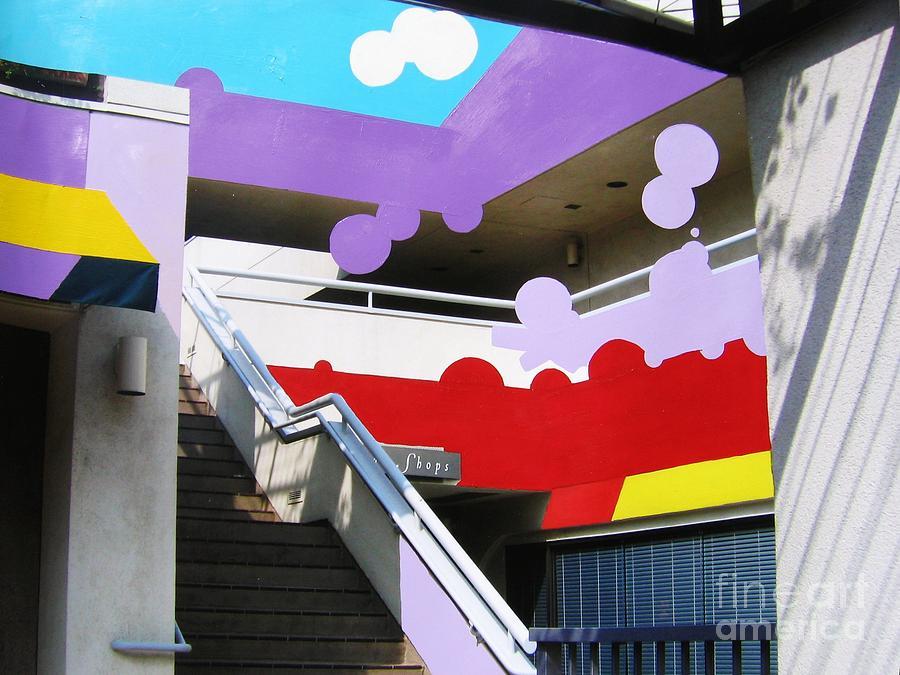 Little Tokyo Painting - Blending Fiction And Reality by Takayuki  Shimada