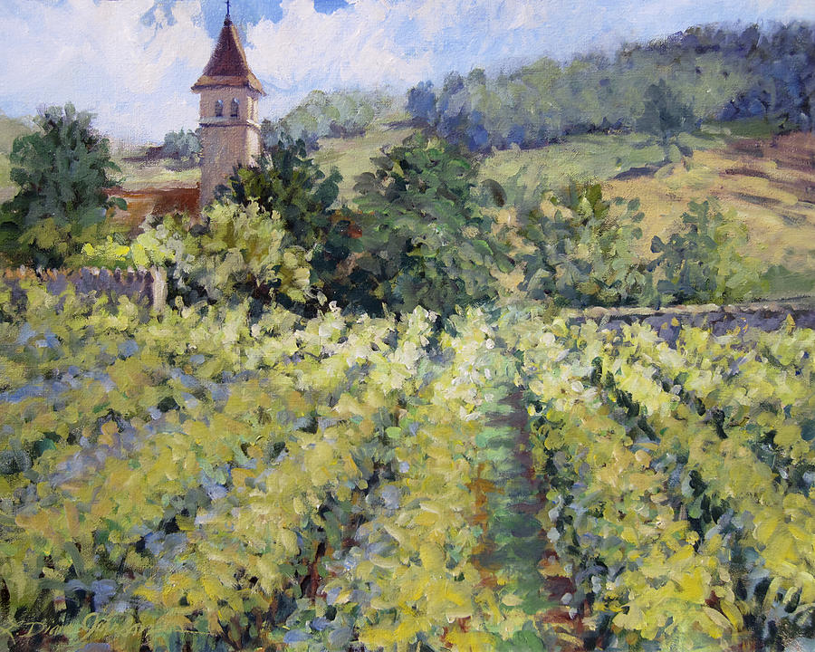 France Painting - Bless The Harvest by L Diane Johnson