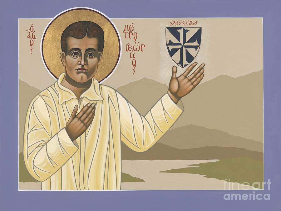 Blessed Pier Giorgio Frassati Painting - Blessed Pier Giorgio Frassati 197 by William Hart McNichols