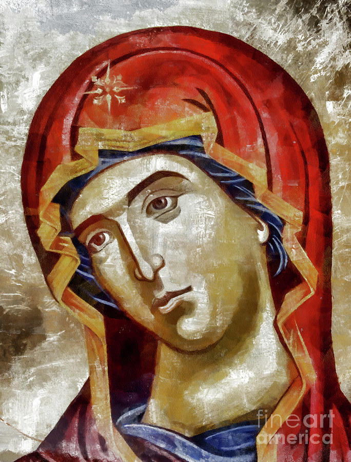 Blessed Virgin Mary Painting