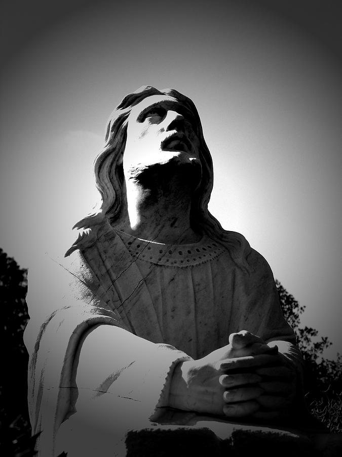 Jesus Photograph - Blessing by Jessica Burgett
