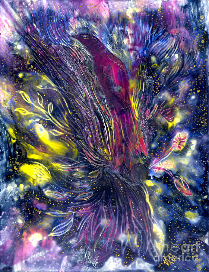 Healing Painting - Blessing Of Freedom by Heather Hennick
