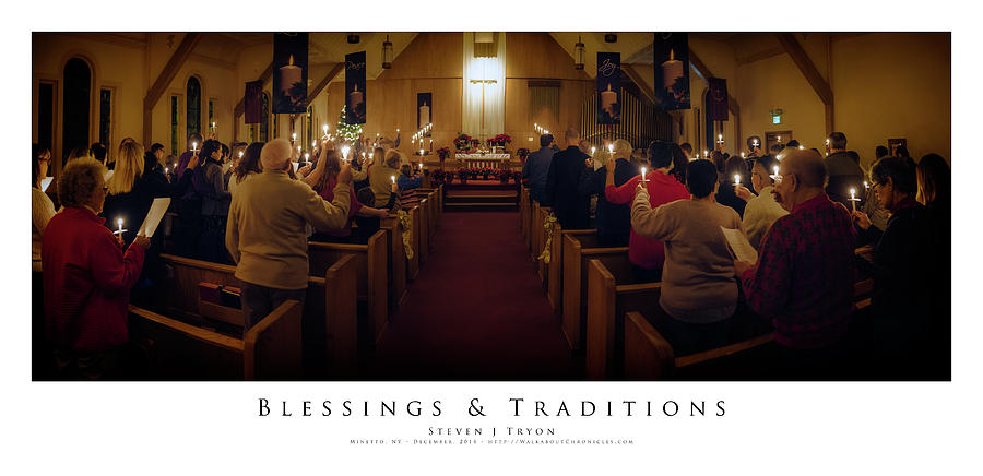 Candles Photograph - Blessings And Traditions by Steven Tryon