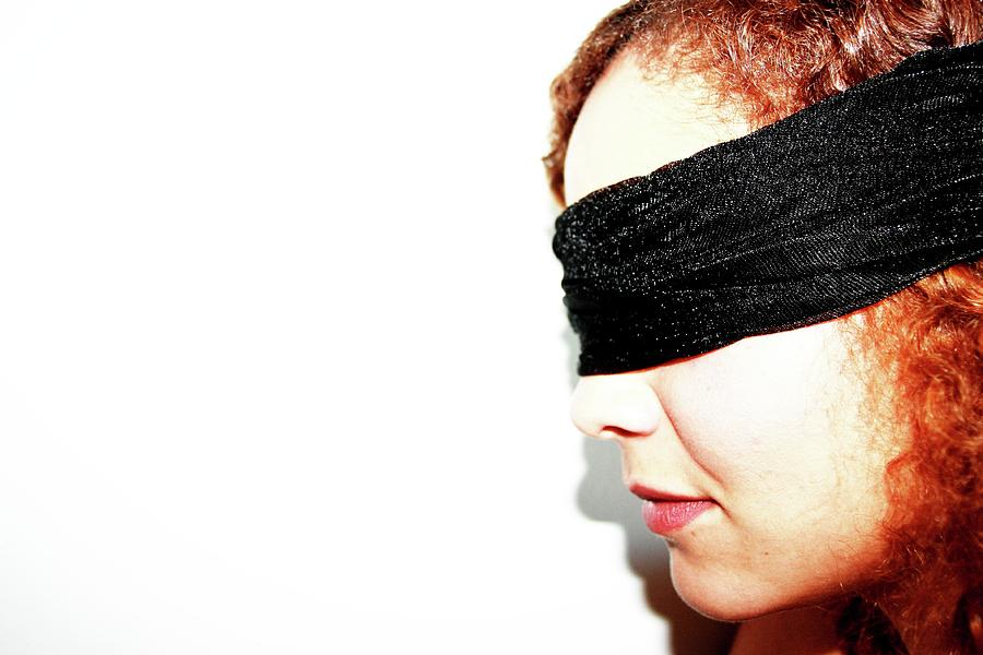 Blindfold Photograph - Blind by Dana Flaherty