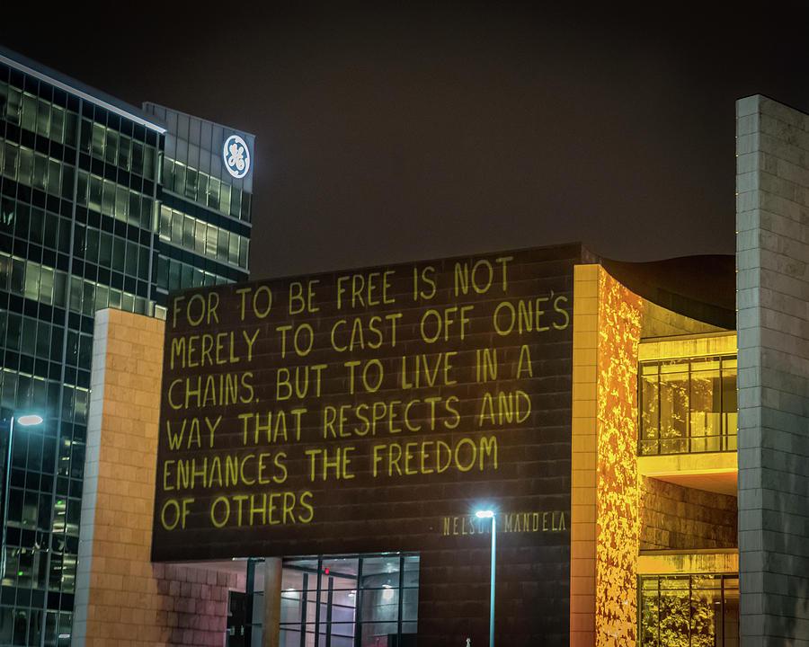 Blink Cincinnati - Freedom Center by Craig Bowman