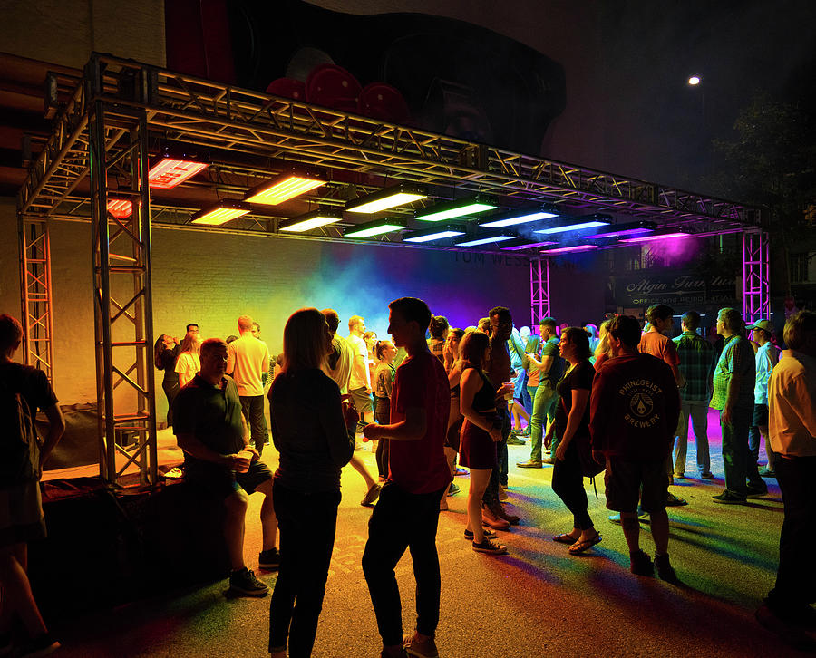 Blink Cincinnati - Luminous Ether by Craig Bowman