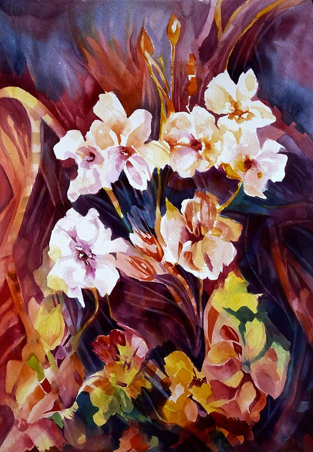 Floral Painting - Bliss by Carolyn LeGrand