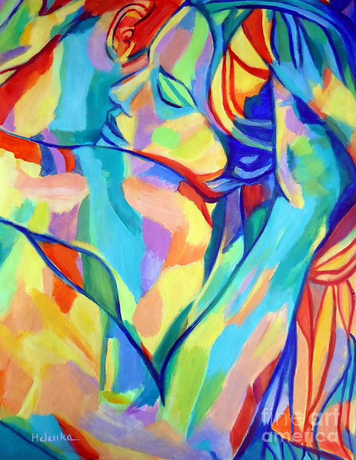 Love Painting - Bliss by Helena Wierzbicki