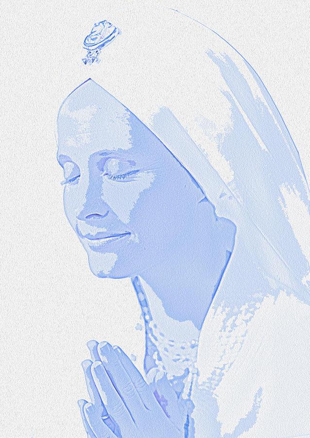 Peace Photograph - Bliss Is God by Manjot Singh Sachdeva