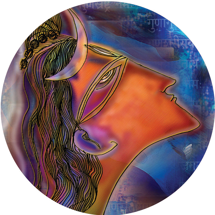 Bliss Shiva by Guruji Aruneshvar Paris Art Curator Katrin Suter