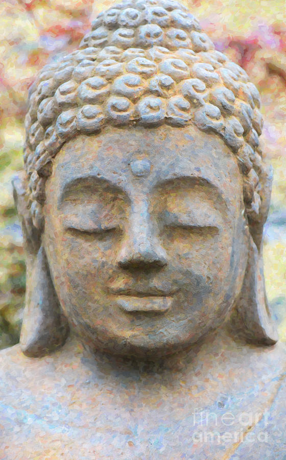 Buddha Photograph - Bliss by Tim Gainey