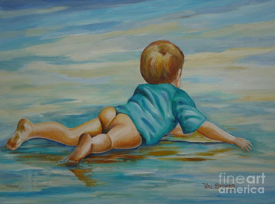 Sand Painting - Bliss by Val Stokes
