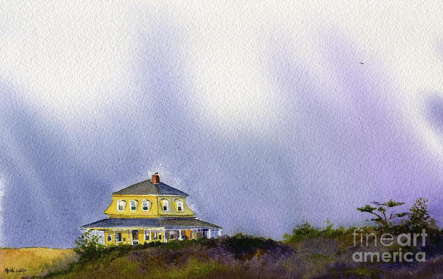 Block Island House by Heidi Gallo