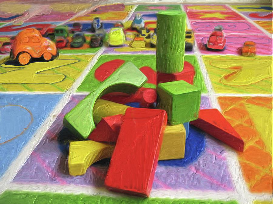 Block Tower by Carla Dreams