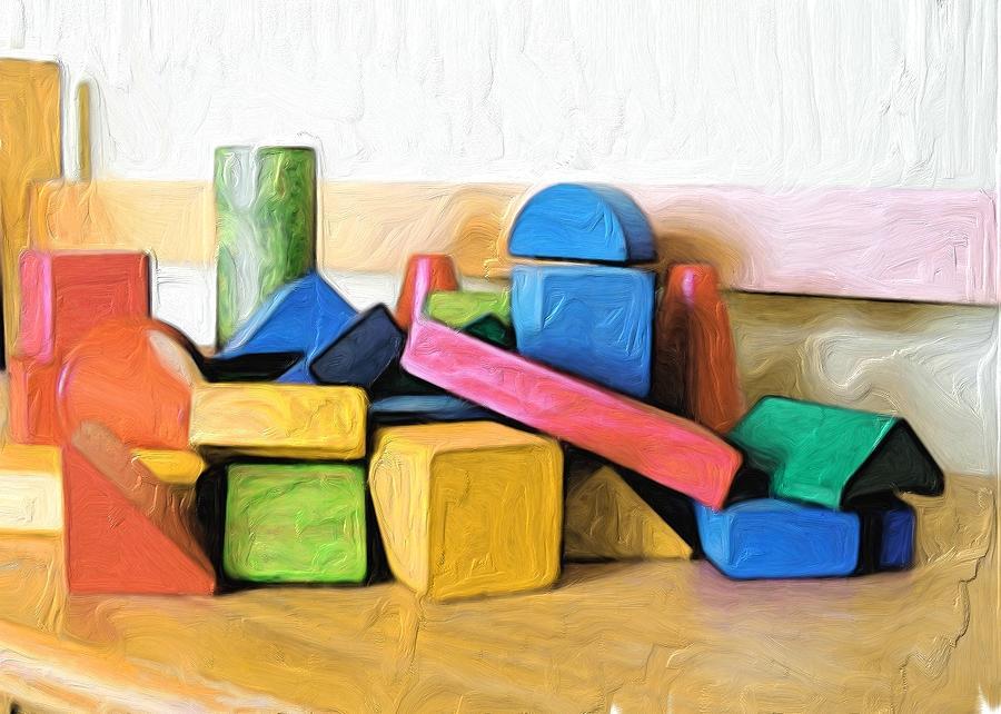 Blocks for my Room by Carla Dreams