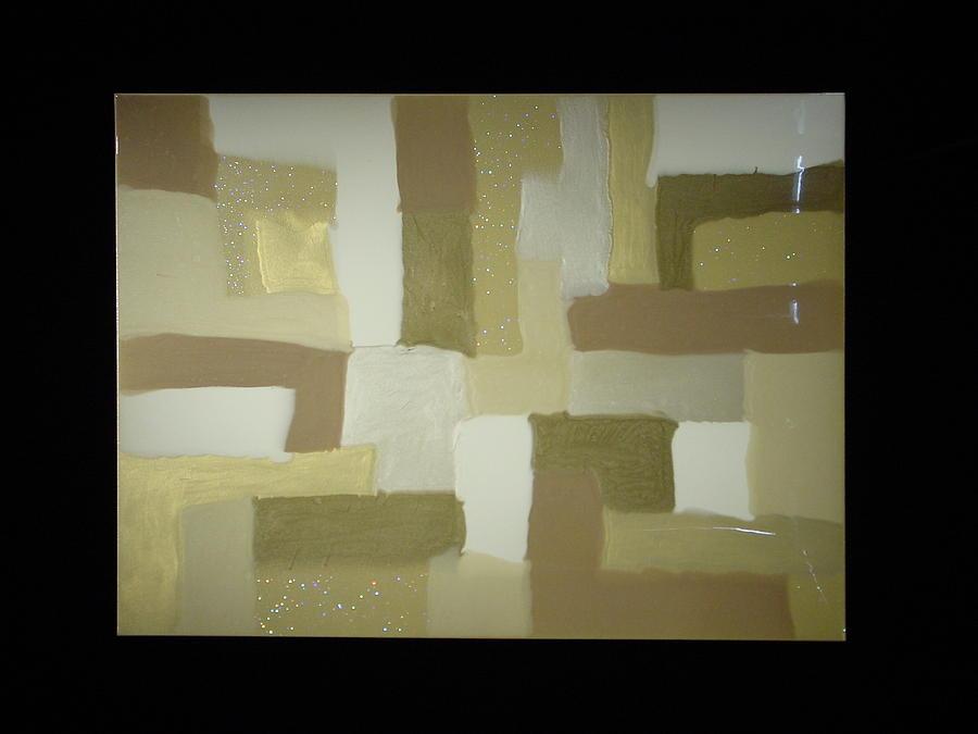Color Blocks Painting - Blocks by Michael  Simon