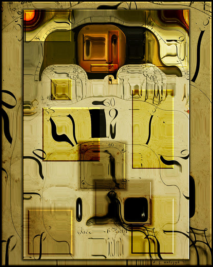 Digital Photograph - Blocks Of Time by Daniel G Walczyk