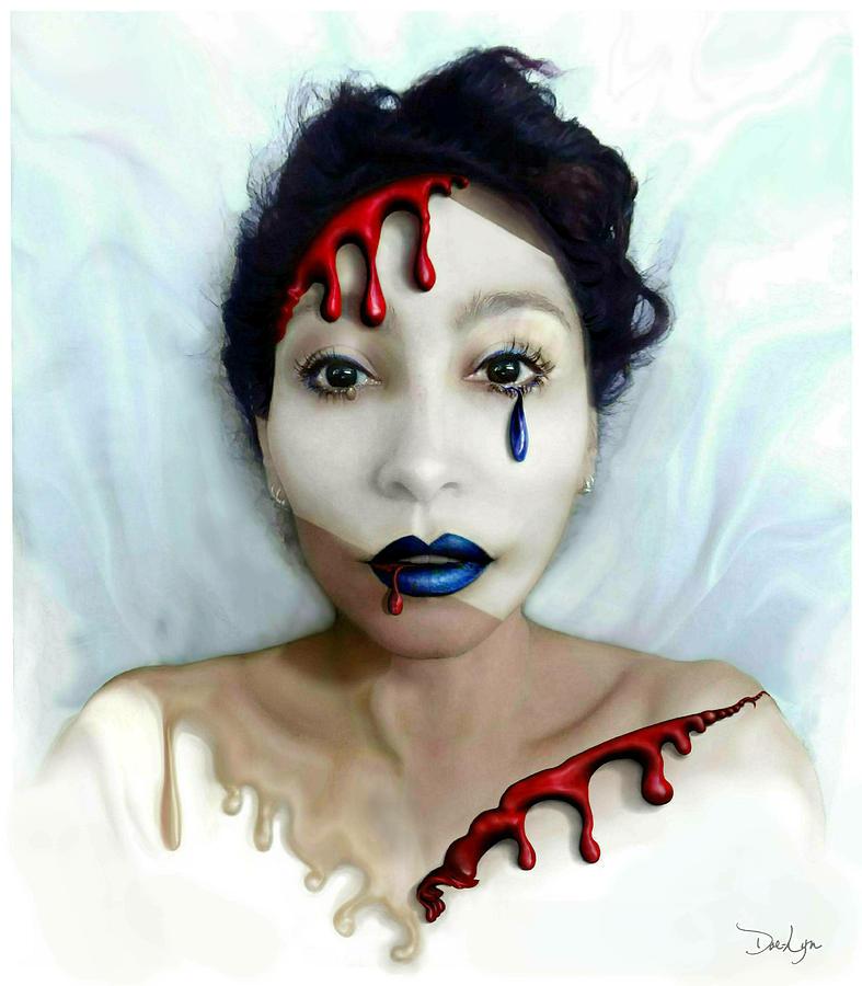 Blood Sweat Tears Faced by Doe-Lyn
