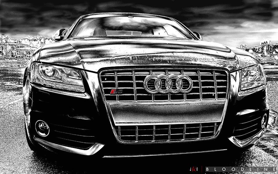 Audi Photograph - Bloodline by Jonathan Ellis Keys