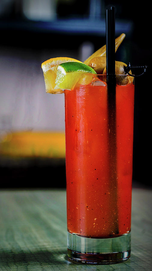 Bloody Mary Photograph - Bloody Mary by Ryan Smith