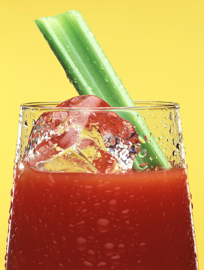 Photo Decor Photograph - Bloody Mary by Steven Huszar