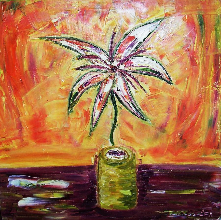 Flowers Painting - Bloom by Ian  Fruehauf